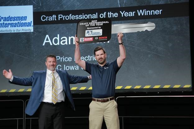 And the Winner of ABC's 2017 Craft Professional of the Year is . . .