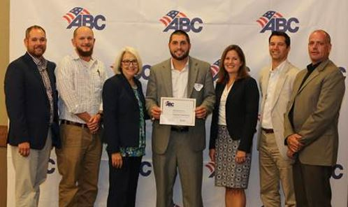 Tradesmen Charlotte Staffing Office Receives ABC Gold STEP Award